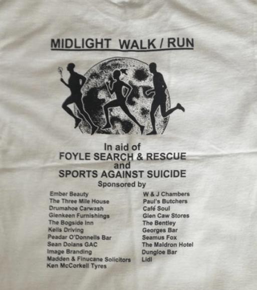 Midlight Walk / Run sponsored by Madden & Finucane