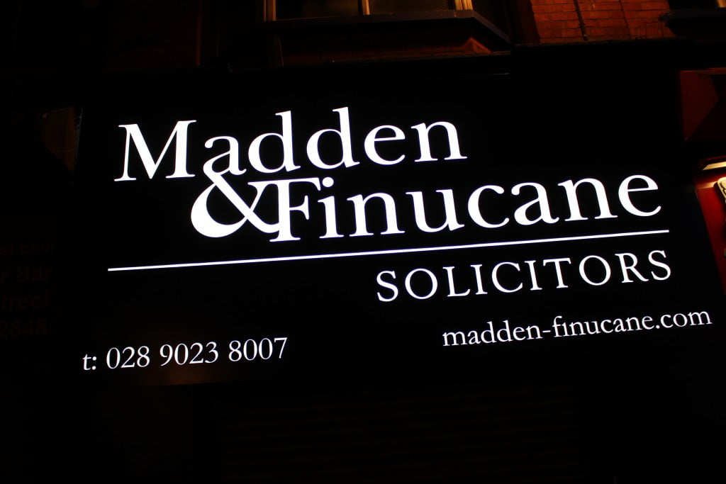 Madden & Finucane Solicitors Belfast Office, 88 Castle Street, Belfast