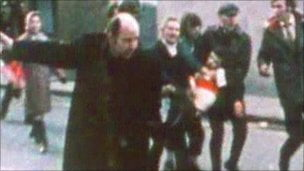 Fourteen people died in 1972 when British soldiers opened fire on civil rights marchers in Londonderry