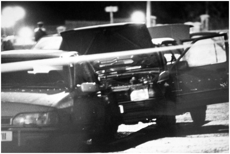 Scene of the shooting of Pearse Jordan, Falls Road, Belfast, 25 November 1992