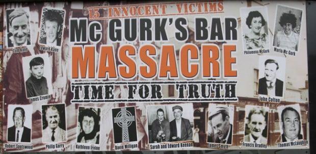 Statement on behalf of families of the McGurk's Bar Bombing