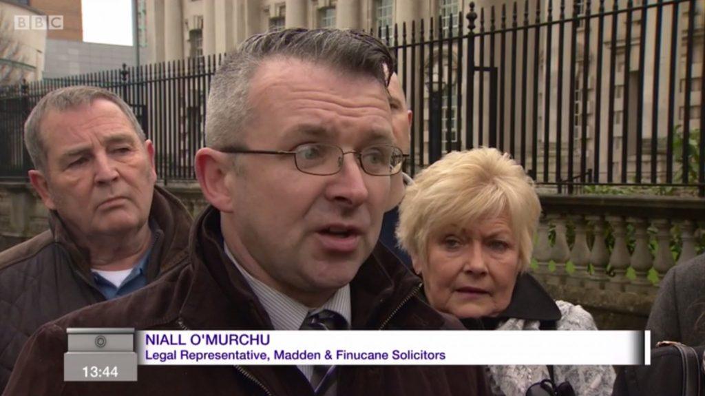 Press Statement of behalf Mr. Paul McQuillan
