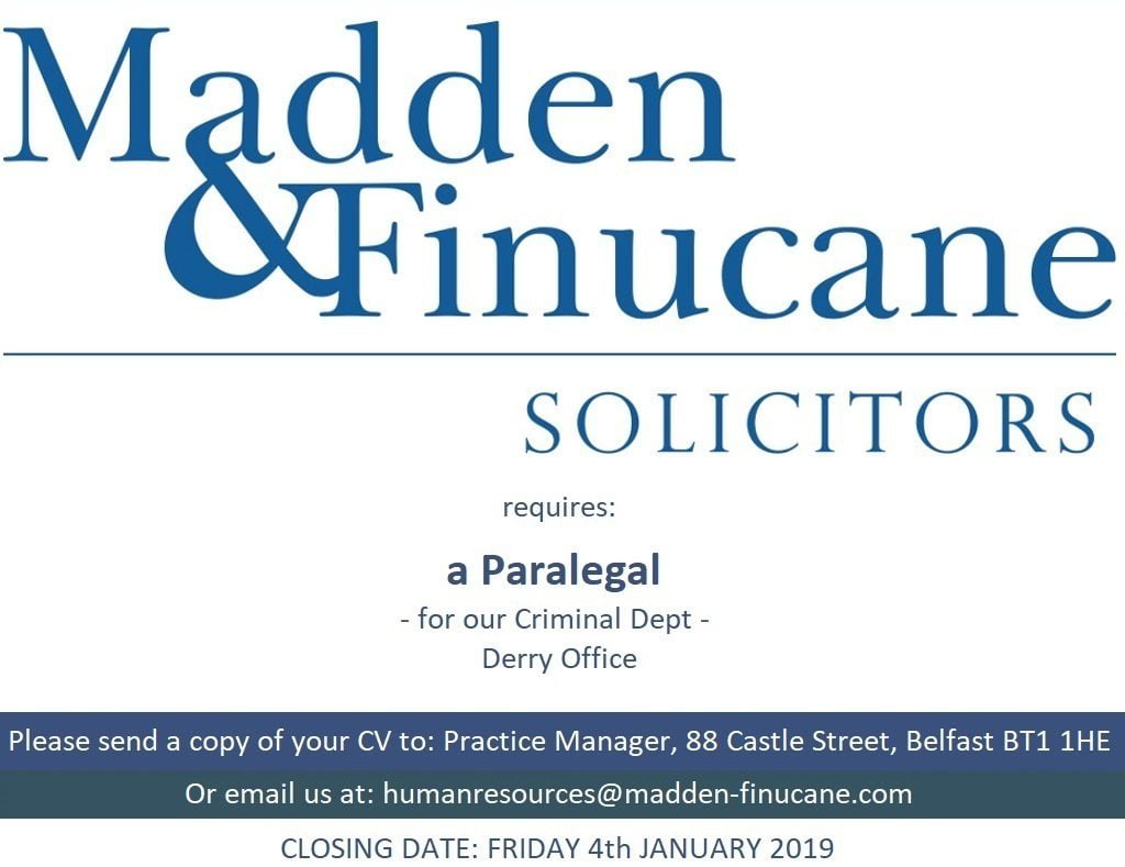 Paralegal Job Opportunity