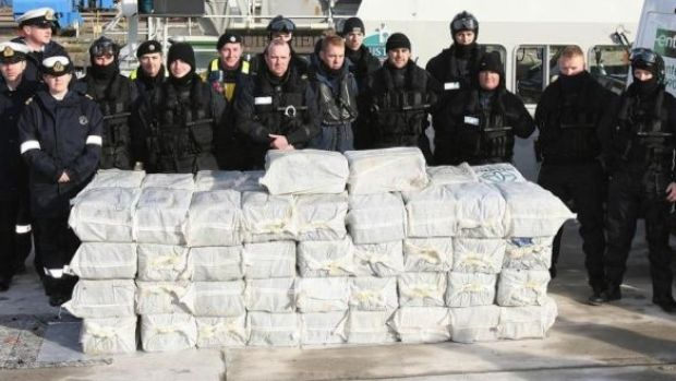 Man found floating with 65 cocaine bales has sentence cut to 23 years