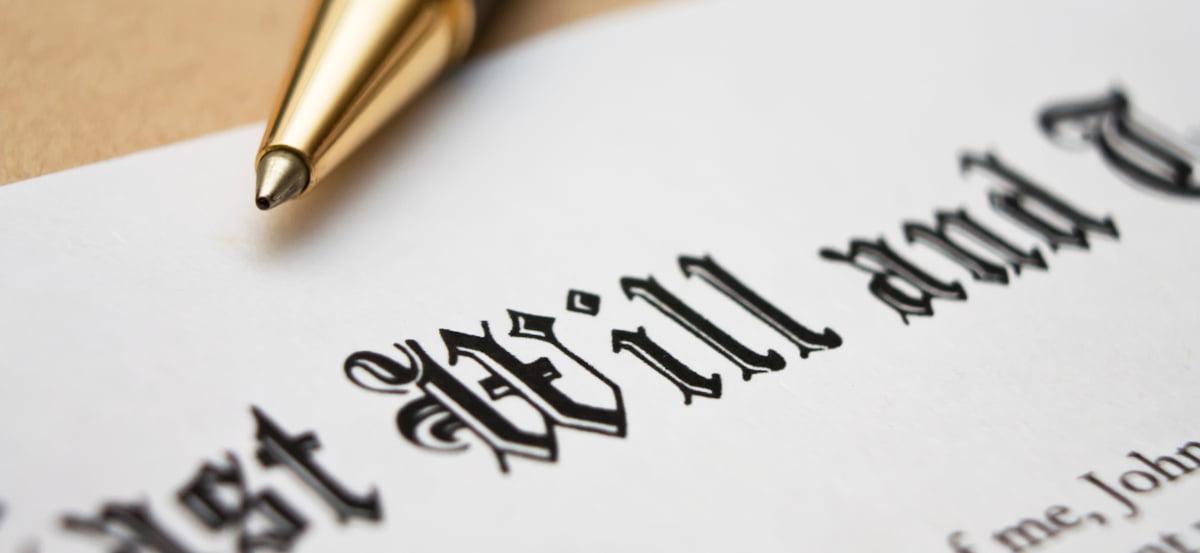 Wills, Probate & Estates