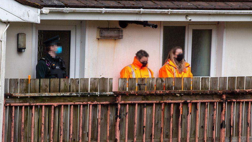 Family of man shot by PSNI make complaint